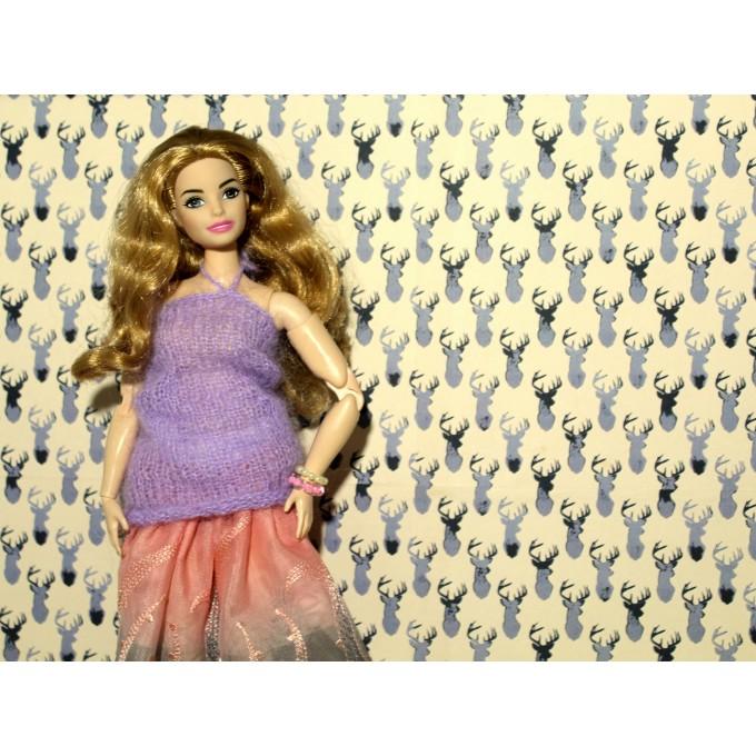 FREE DOWNLOAD deer wallpaper dollhouse DIY print