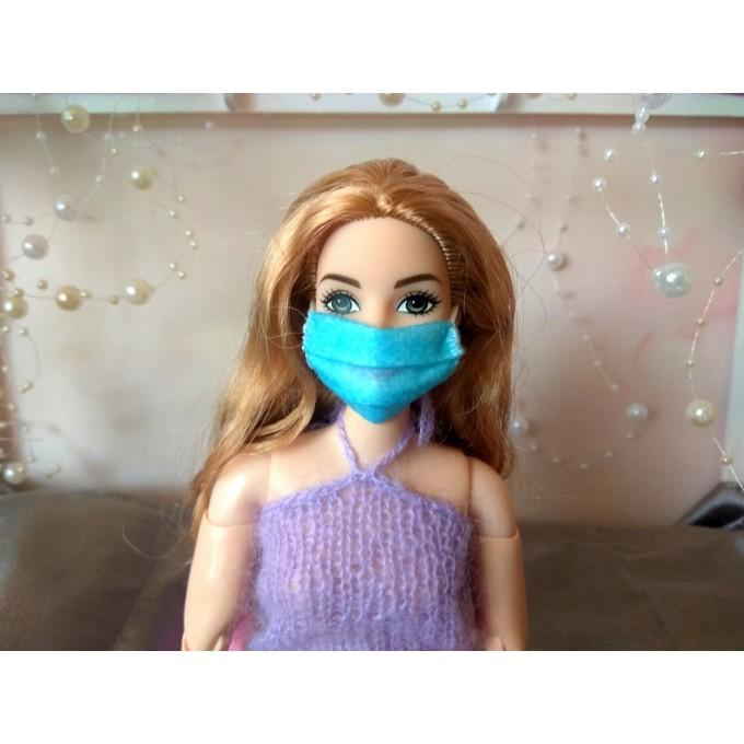 Miniature face mask, quarantine play BJD doll