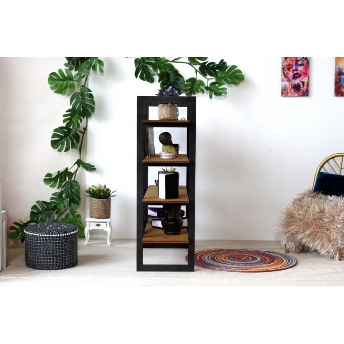 Modern dollhouse bookcase 1:6 scale, handmade